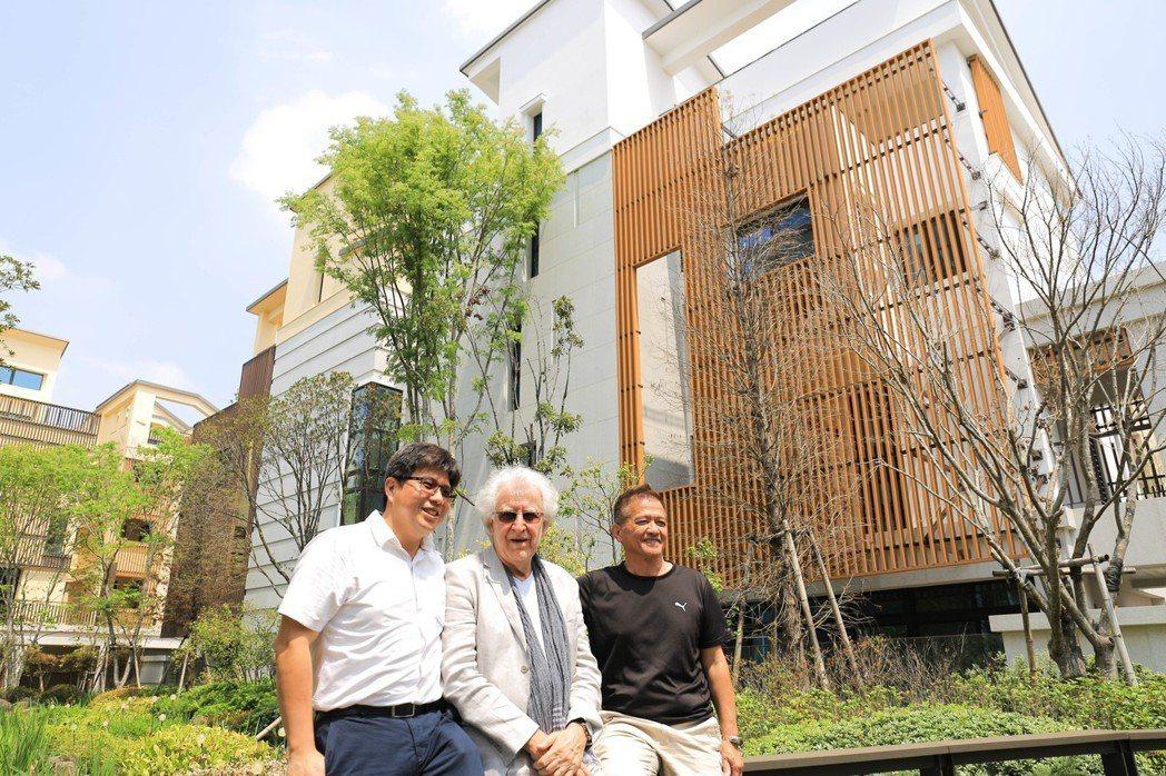 神揚建設副總經理李彥頤說,Joachim EBLE是歐盟第一位認證的德國生態建築...