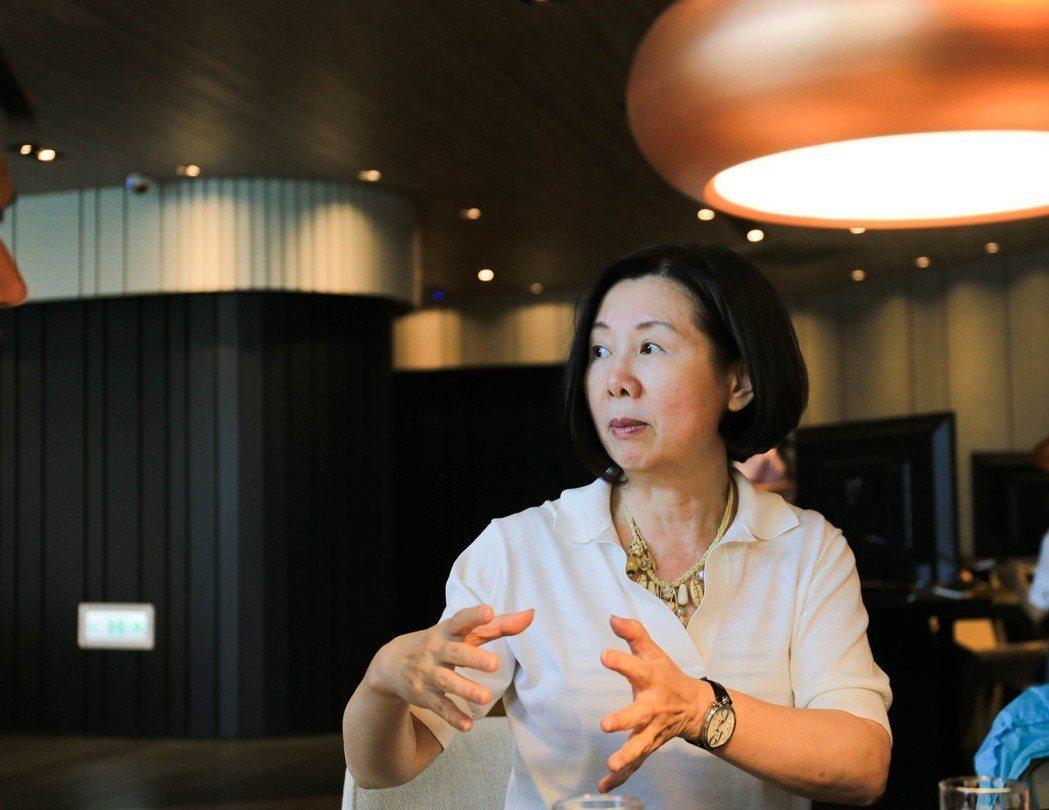 國揚實業總經理彭邵齡說,花九年時間以創新環保的建築工法規劃「翡翠森林」,是為了要...