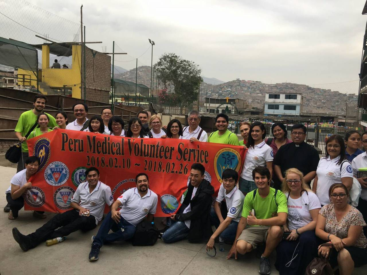 國際外科學會中華民國總會的醫師們最近飛越半個地球,前往秘魯的亞馬遜河流域為民眾義...
