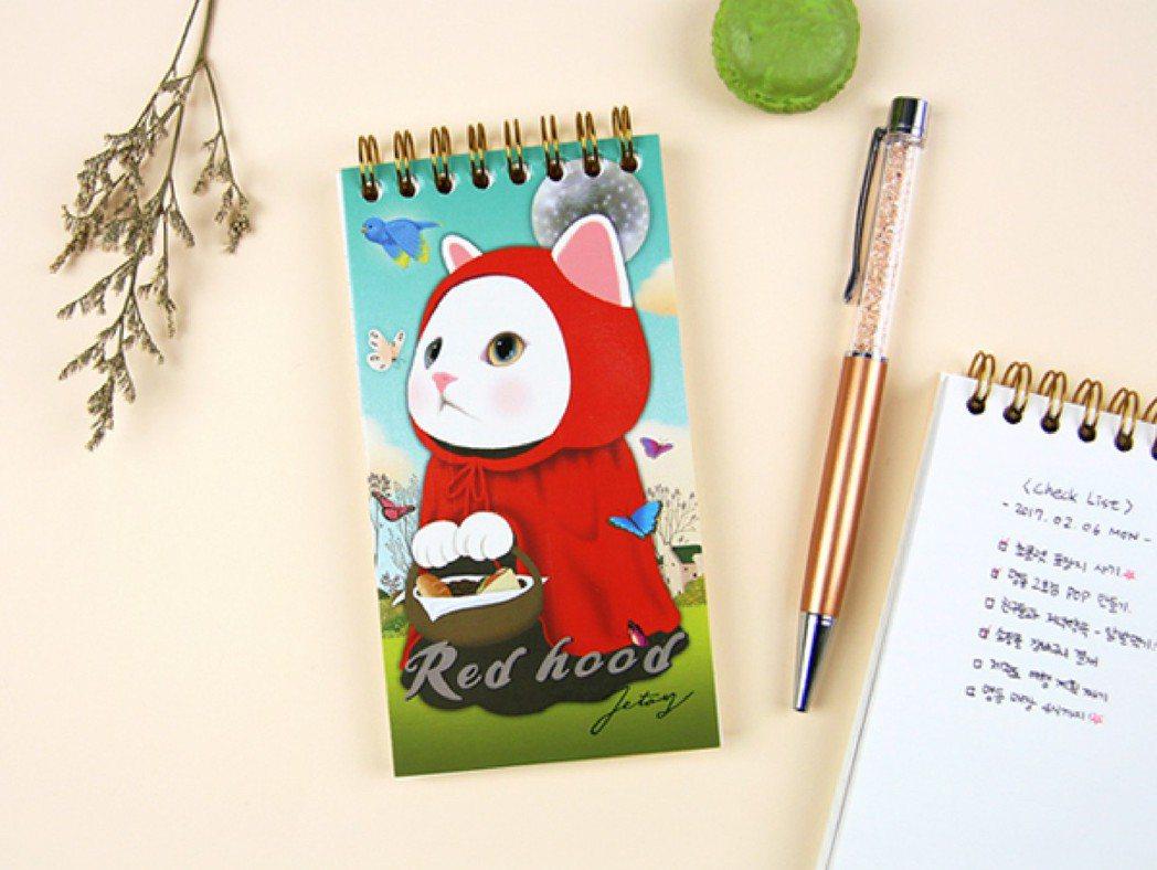 jetoy口袋筆記本,原價139元,會員價109元。圖/OK超商提供