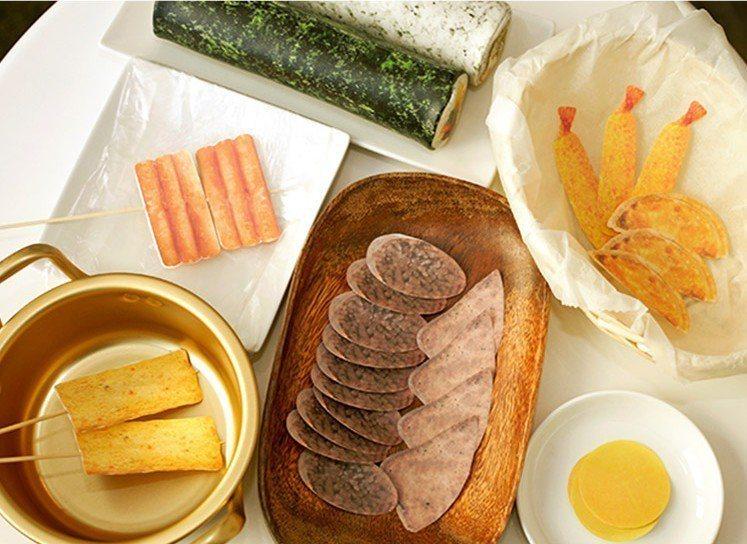 韓國小吃便條紙,售價130元,會員價99元。圖/OK超商提供