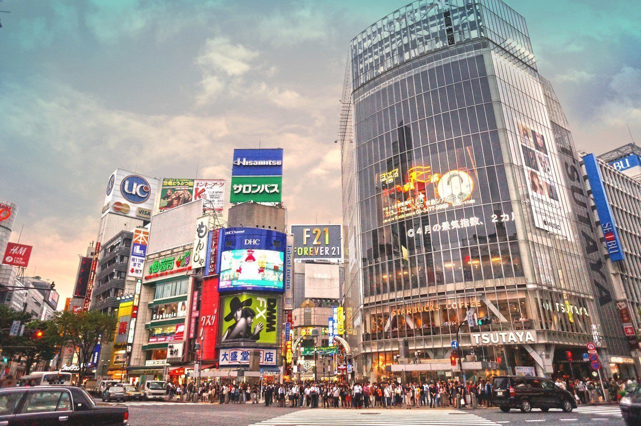 日本澀谷街景 圖/第一太平戴維斯提供