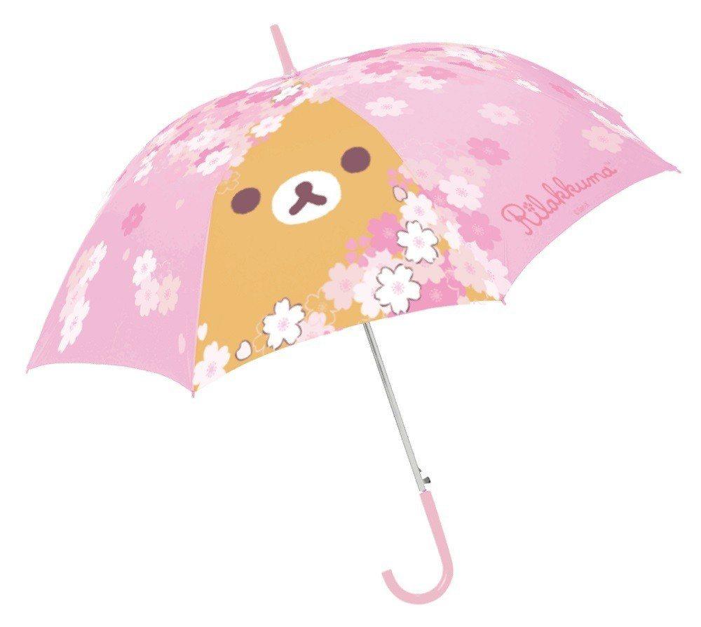 限量拉拉熊傘,集滿6點加199元即可兌換1款,限量共4萬個。圖/7-ELEVEN...