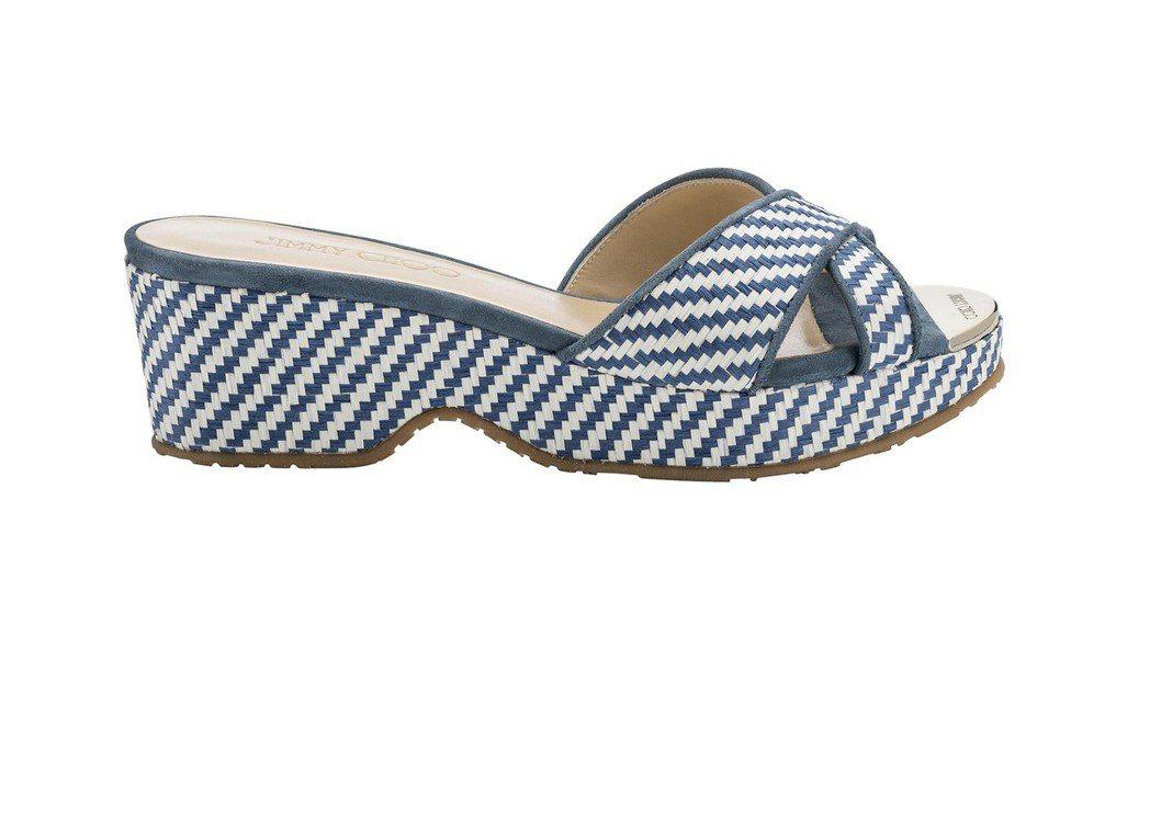 PANNA厚底拖鞋,19,800元。圖/Jimmy Choo提供
