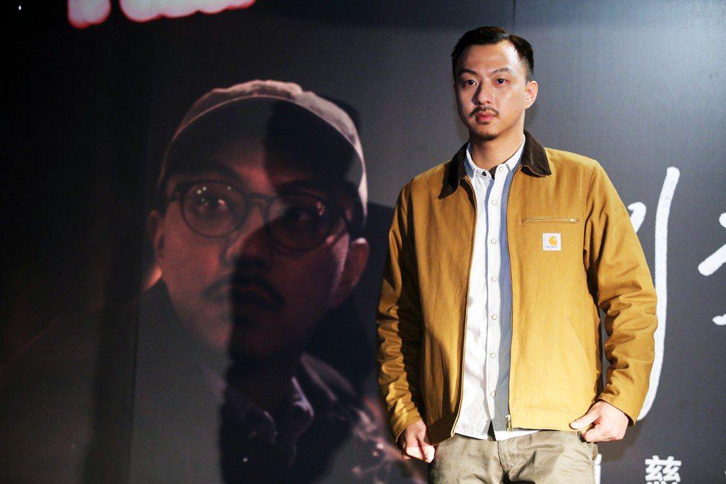 賴慈泓今天舉行新專輯《別來無恙》發片記者會。記者徐兆玄/攝影