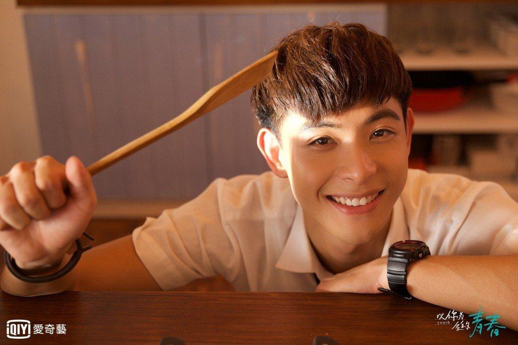 連晨翔演出「以你為名的青春」。圖/愛奇藝台灣站提供