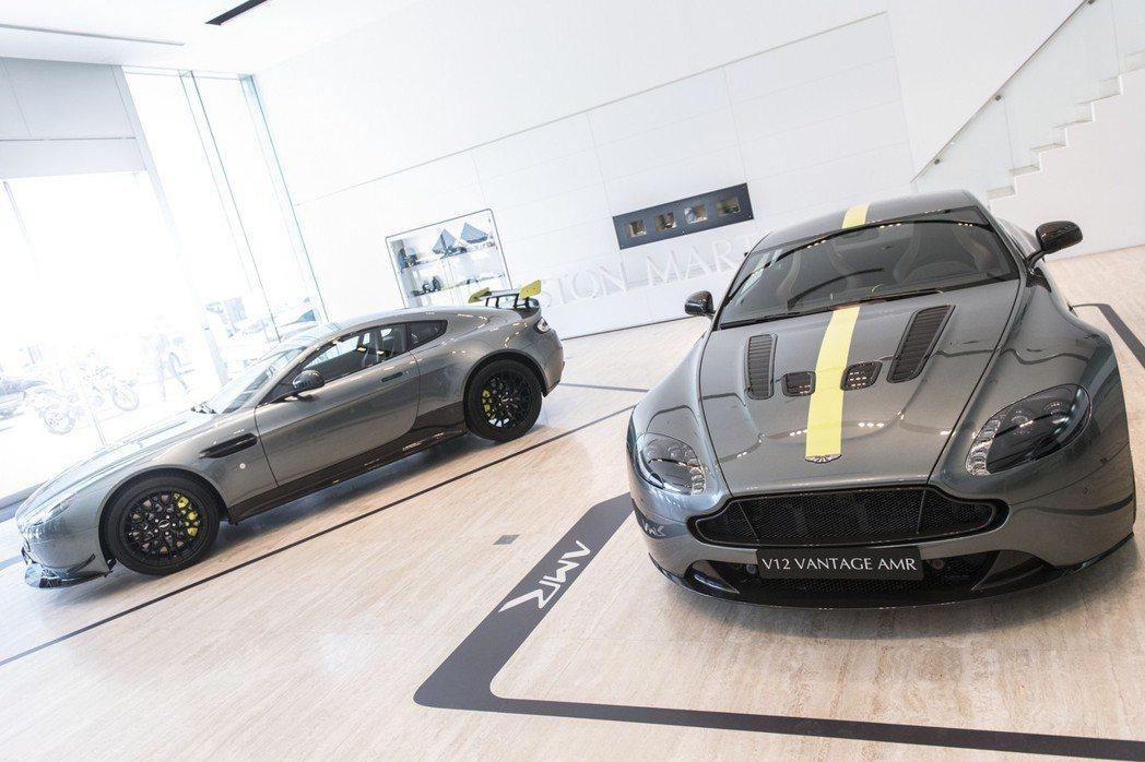 ASTON MARTIN 在 2017 年日內瓦車展宣布成立 AMR(ASTON...