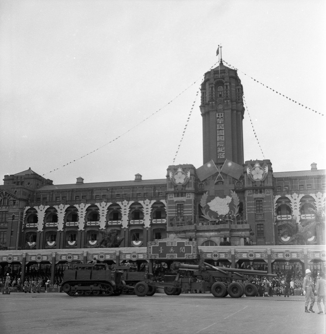 總統府的建築是日據時代興建的總督府,由森山松之助設計。 圖/聯合報系資料照片