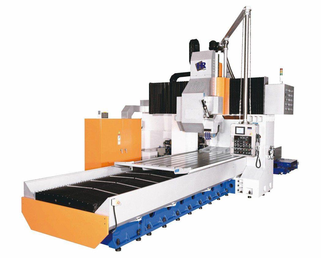 亞陞公司推出HRE精密龍門磨床,滿足業者多元研磨需求。 業者/提供