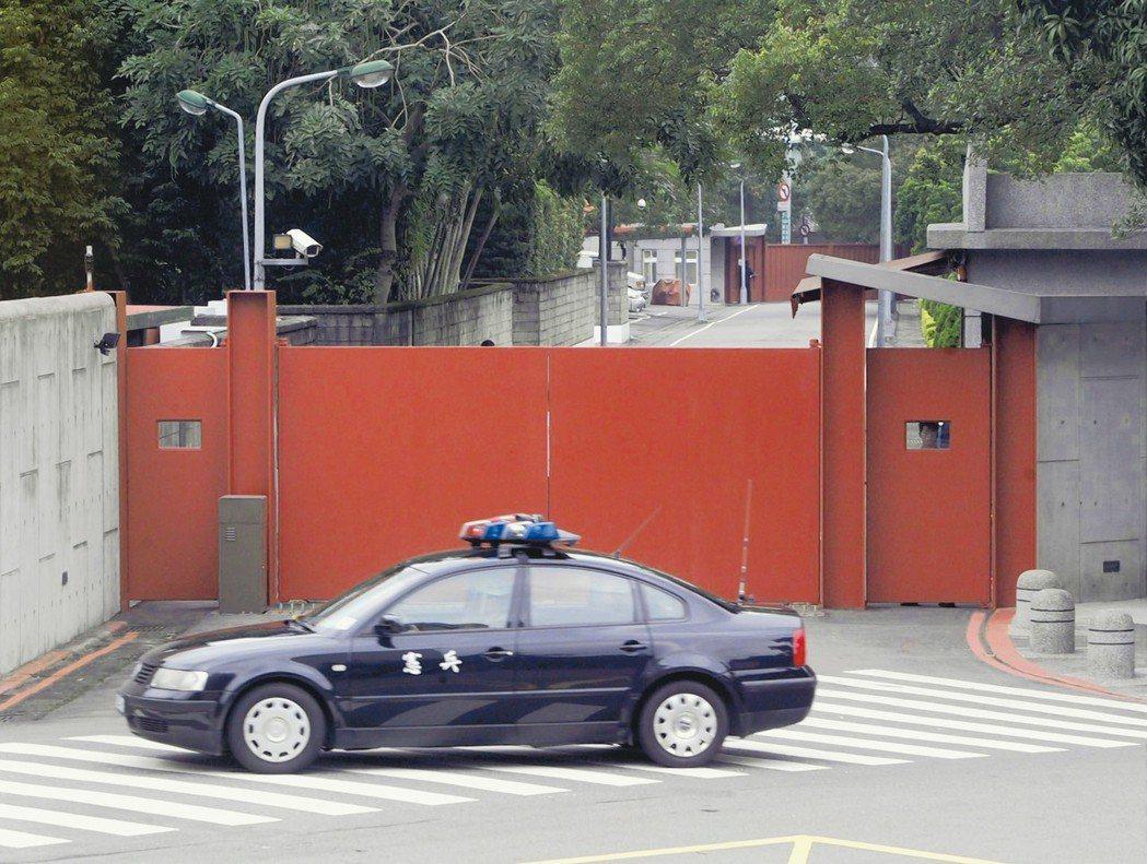 藍委爆料 總統官邸去年傳槍響 離蔡英文僅50公尺