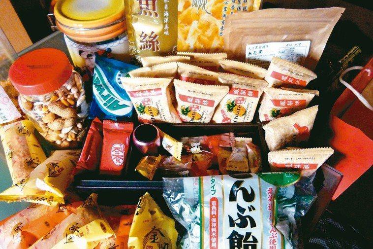 「零食」與「飲料」才是民眾過年發胖主因。 記者鄭國樑/攝影