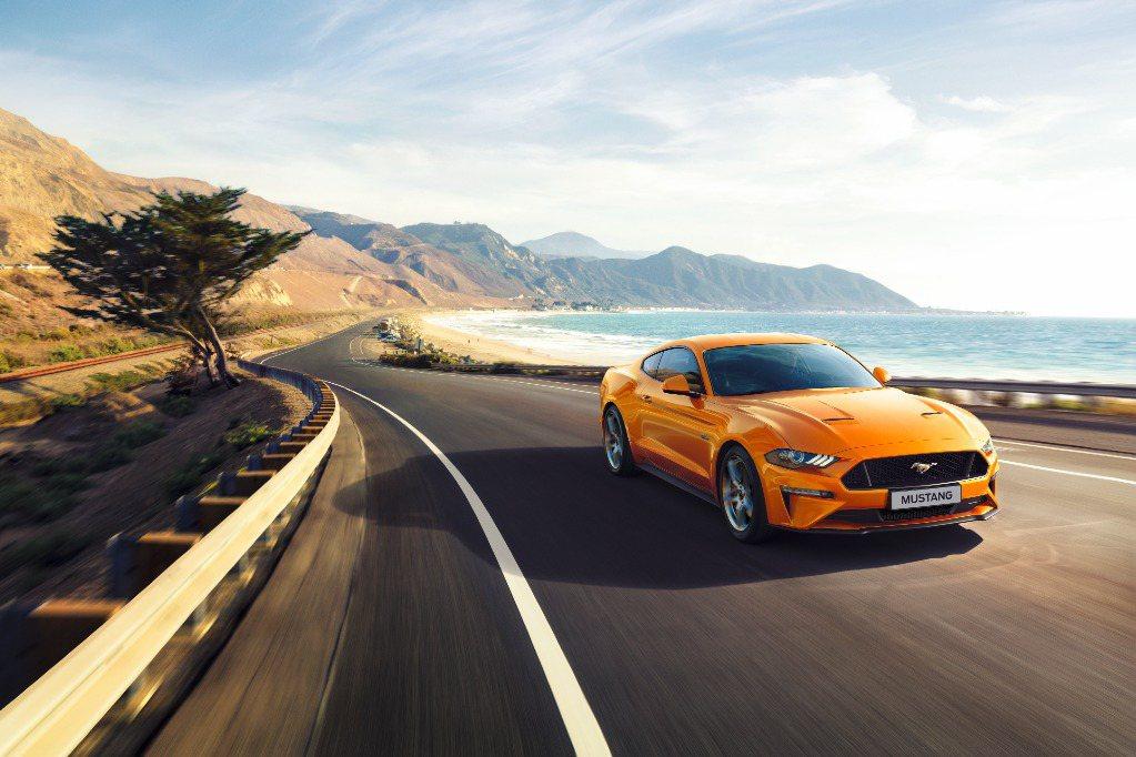 Ford Mustang連三年獲雙門跑車銷售冠軍。 圖/福特六和提供