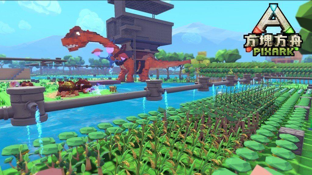 ▲《方塊方舟》遊戲畫面。