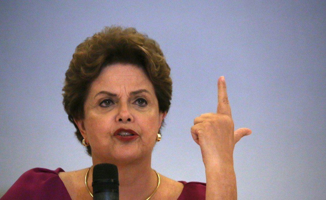 巴西前總統羅賽芙怒批《黑金高牆》抹黑。 圖/路透社