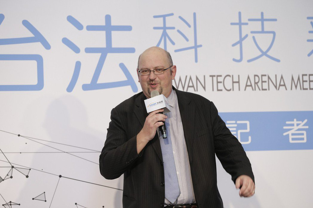 French Tech Taiwan在台代表 Pascal Viaud致詞,期待...