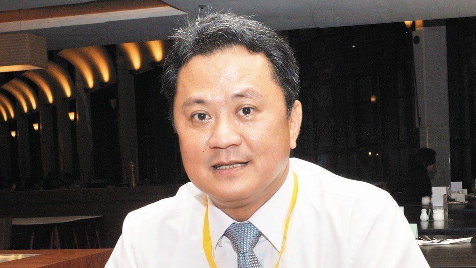 玉晶光董事長陳天慶。 報系資料照