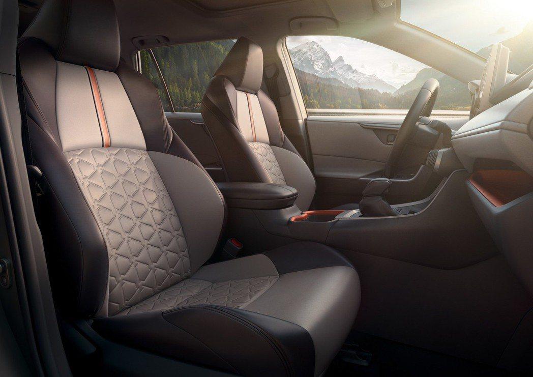 八段式可調座椅含記憶功能。 摘自Toyota
