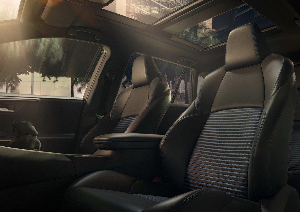 全景天窗列為選配項目。 摘自Toyota