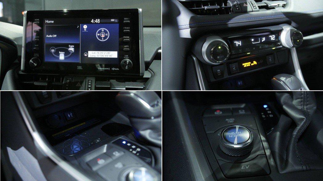 左下小圖為無線充電板,但這是選配項目。 摘自Motor 1