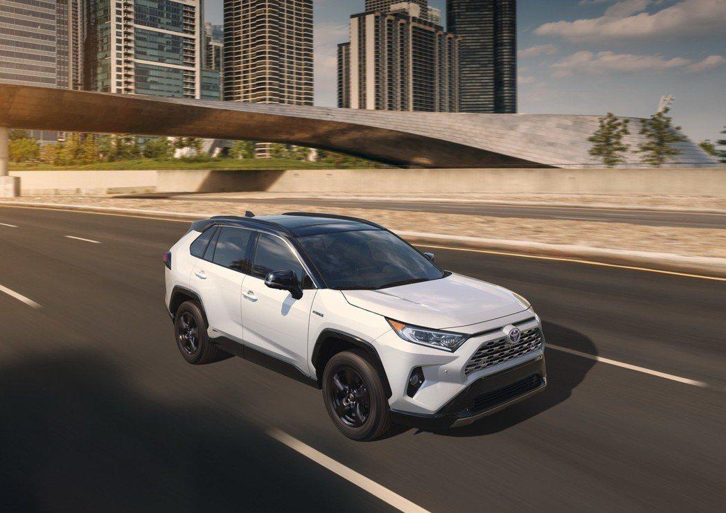 圖為新世代RAV4 Hybrid車型。 摘自Toyota