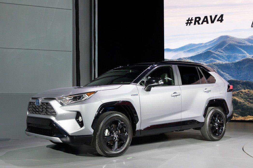 圖為新世代Toyota RAV4。 摘自Toyota