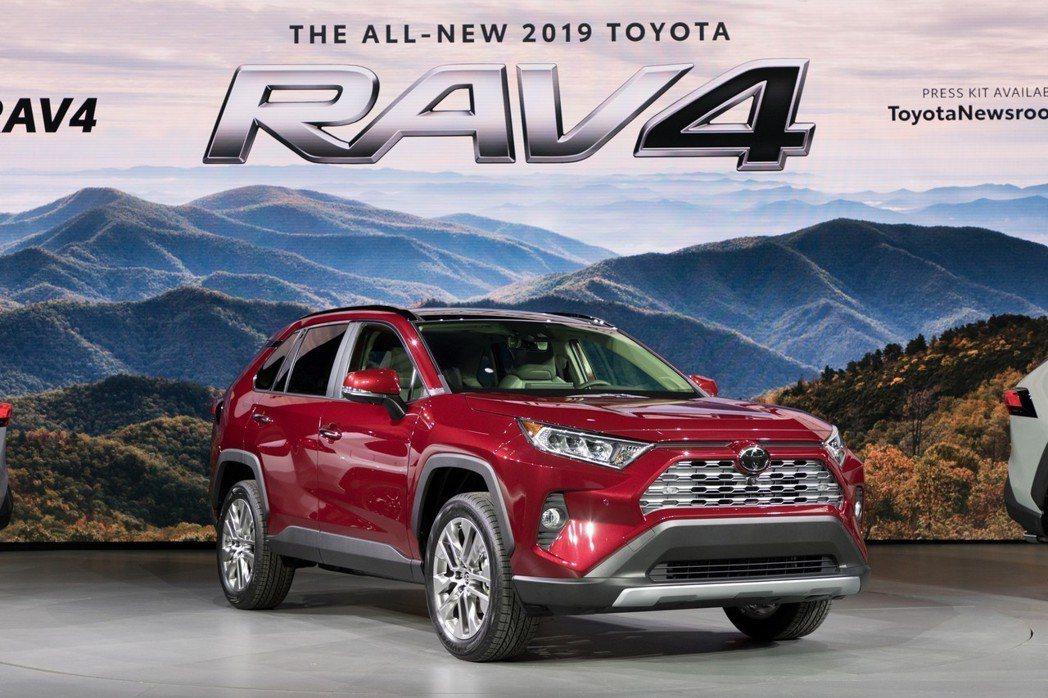 全新世代Toyota RAV4預計會在冬季於全美及加拿大上市。 摘自Toyota