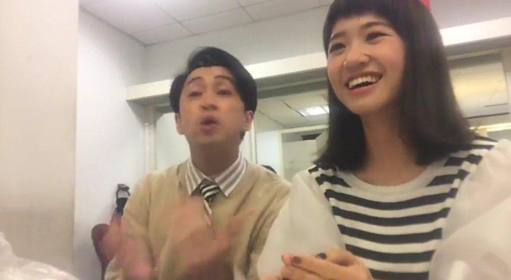 Lulu還原事實,陳漢典模仿陽帆幫她出氣。圖/摘自臉書