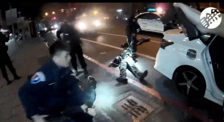 高雄市警局特勤中隊昨凌晨開22槍擊斃陳姓通緝犯。圖/警方提供