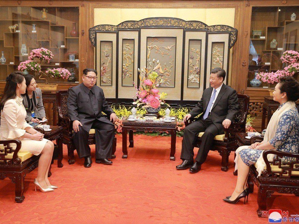 金正恩密訪北京 習近平打破四大慣例