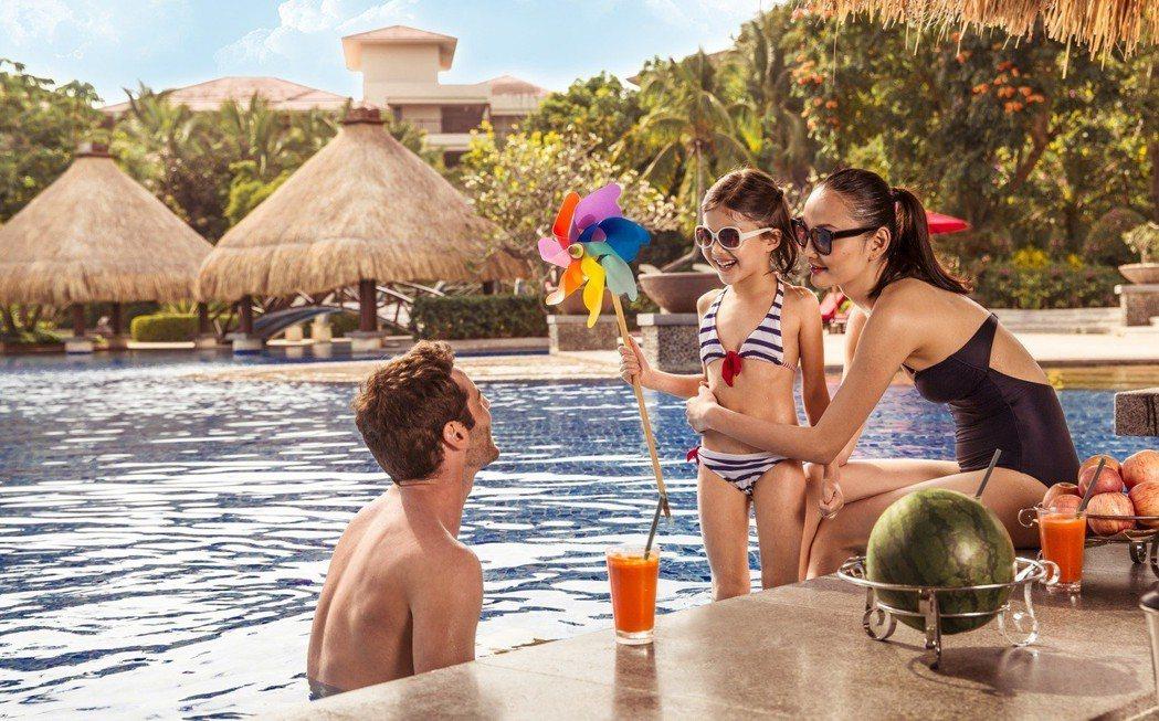全包式的度假風潮正起,最受家庭旅客喜愛。圖/Club Med提供