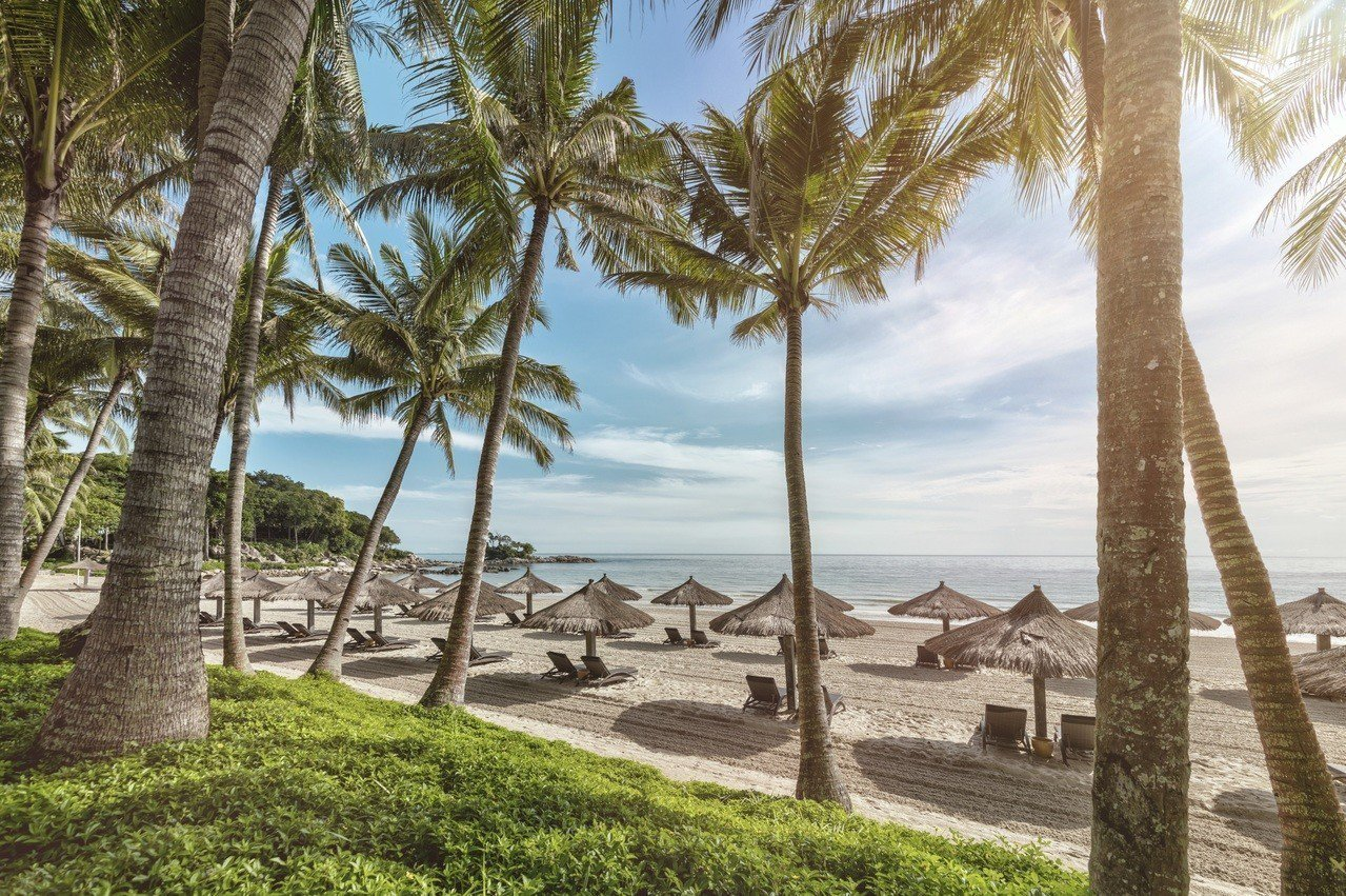 民丹島旅客成長快速。圖/Club Med提供