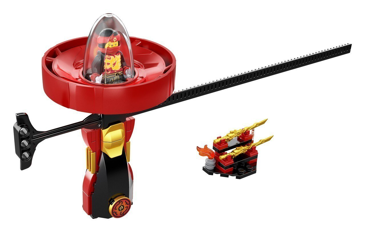 LEGO NINJAGO系列,赤地-旋風火焰大師。圖/台灣樂高提供