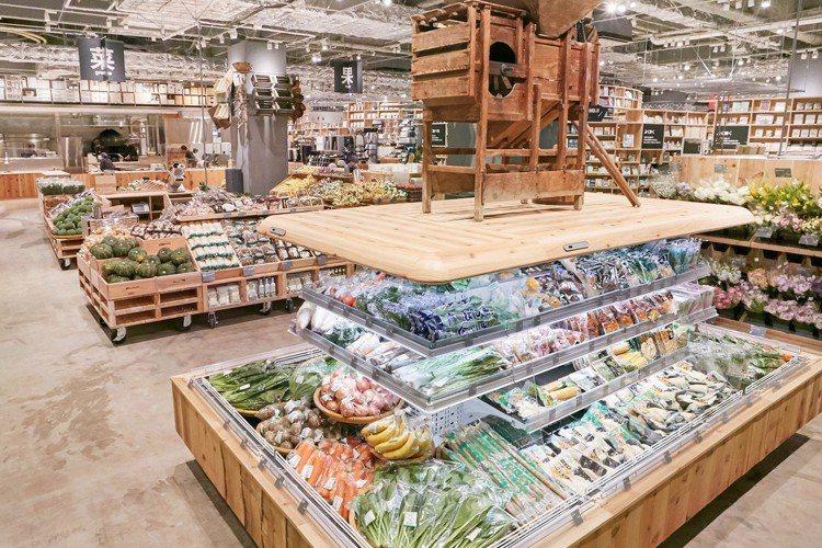 無印良品堺北花田店以「食」為主題。圖/無印良品提供