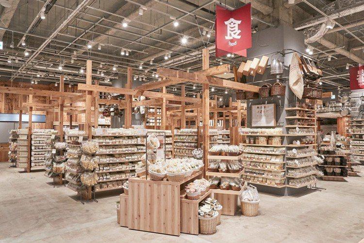 無印良品堺北花田店占地4,300平方公尺。圖/無印良品提供