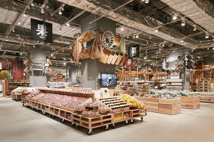 世界最大無印良品堺北花田店,於3月20日開幕。圖/無印良品提供