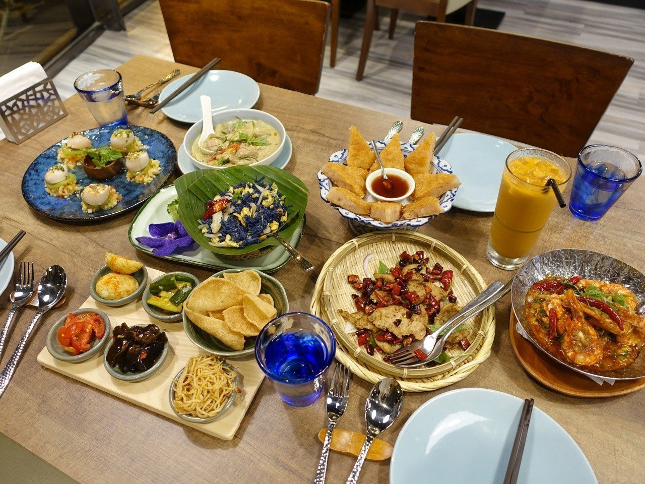 泰八強調所有餐點皆不含味精。記者張芳瑜/攝影
