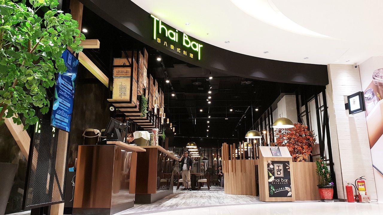 泰八泰式料理提供88個用餐座位。記者張芳瑜/攝影