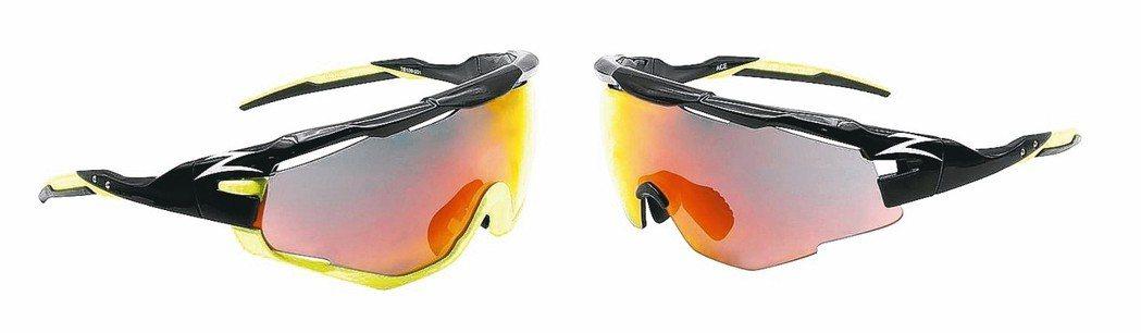 「ZIV運動眼鏡」發表2018年全新框型─ACE,以單片全框型運動太陽眼鏡做為設...
