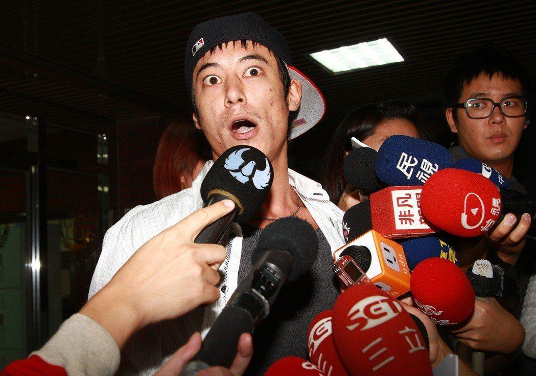 蔣家第四代蔣友青被控恐嚇台北美國學校。 圖/聯合報系資料照片