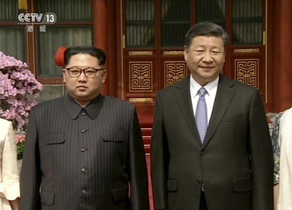 訪中國待遇比一比 韓媒:金正恩勝文在寅
