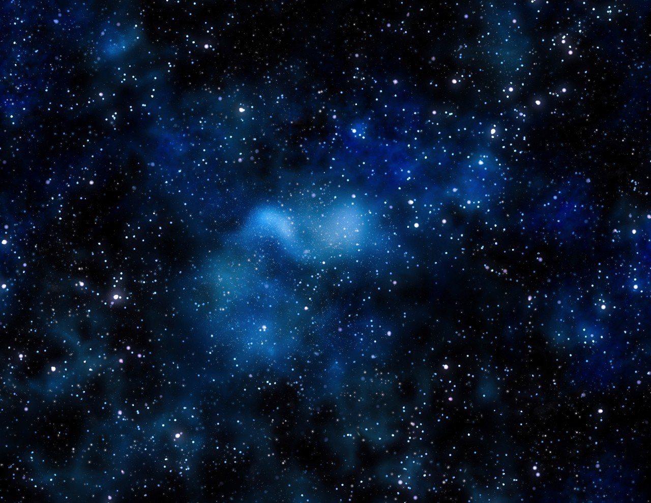 示意圖。天文學家今天宣布,學界首次發現已知唯一沒有暗物質的星系。學界先前認為1/...