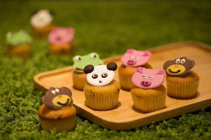 台北王朝大酒店烘焙坊在4月4日及5日期間,推出限定甜點「動物大集合」 王朝大酒店...