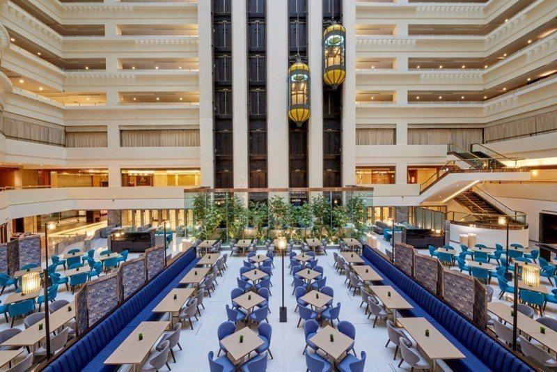 耗資1億2000萬改裝的SUNNY BUFFET,空間氣氛優雅,受到食客歡迎。 ...