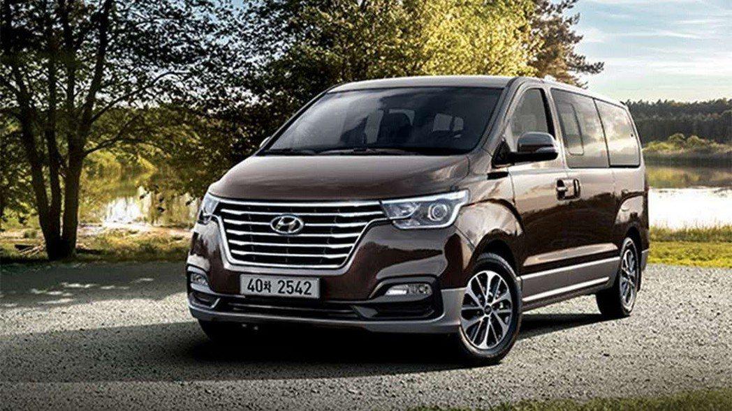 大改款的歐風九人座Grand STAREX計畫將於下半年導入台灣市場。 圖/Hyundai提供