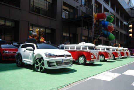 大人小孩都有車!Volkswagen與蘭城晶英酒店推出「Carstel」體驗