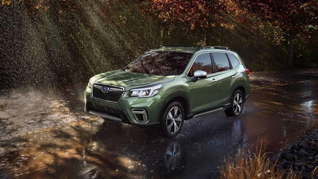 All New Subaru Forester,越野功能依舊強悍。 摘自Subaru