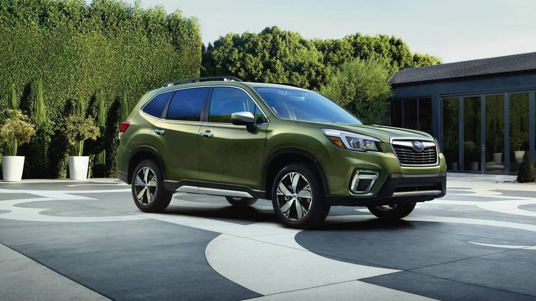 新世代Forester外型沒有大幅變動。 摘自Subaru