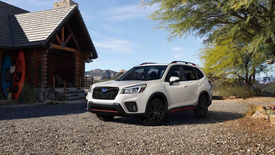 美規車型會有運動版的外觀選擇。 摘自Subaru