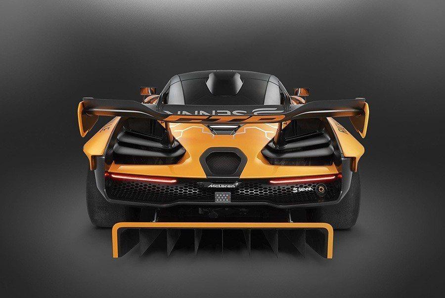 Senna GTR Concept。 McLaren提供