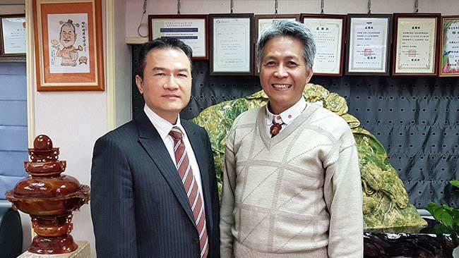 理財周刊發行人洪寶山(左)、蘇大成(右)650